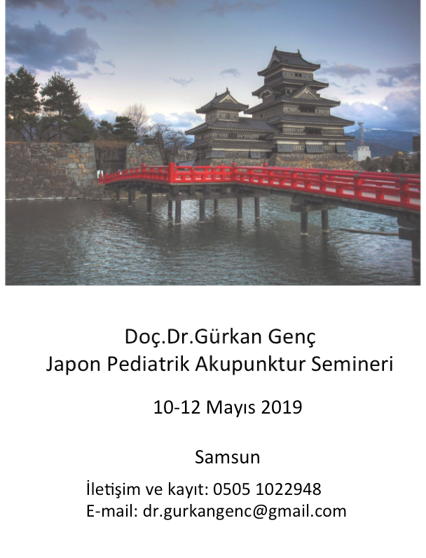 Japon pediatrik akupunktur semineri